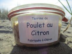 TERRINE DE POULET AU CITRON