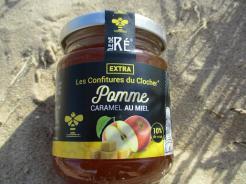 CONFITURE POMME CARAMEL AU MIEL