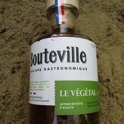 BOUTEVILLE, vinaigre gastronomique, le végétal.