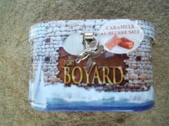 tirelire fort boyard avec caramels au beurre salé