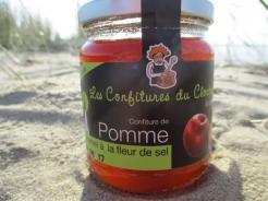 CONFITURE DE POMME CARAMEL A LA FLEUR DE SEL
