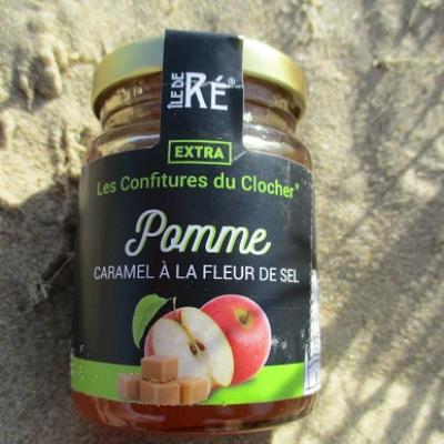 CONFITURE POMME CARAMEL A LA FLEUR DE SEL