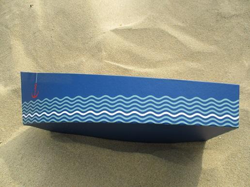 panier en forme de barque