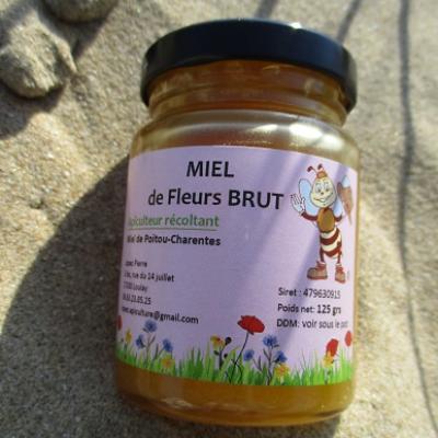 MIEL DE FLEURS BRUT