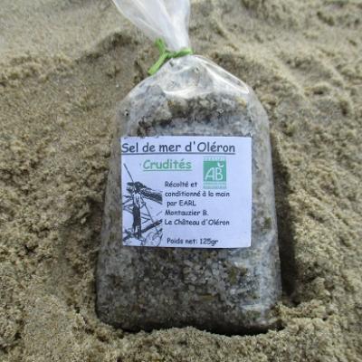sel de mer d oléron crudités