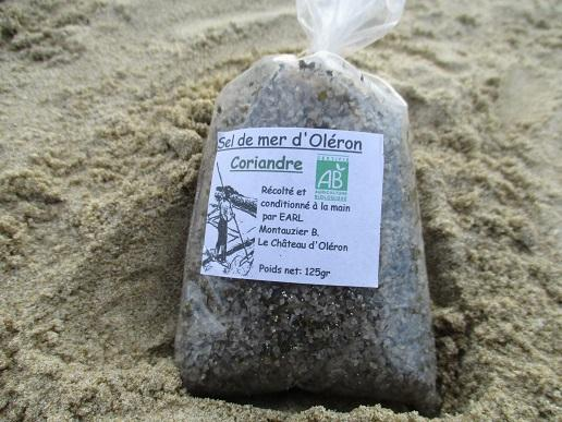 sel de mer d oléron coriandre