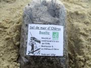 sel de mer d oléron basilic