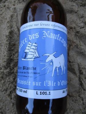Bière blanche à la fleur de sel
