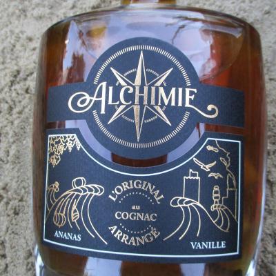 cognac arrangé ananas vanille