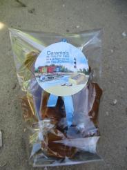 Carmels à la fleur de sel de l ile d oléron - 100 grs