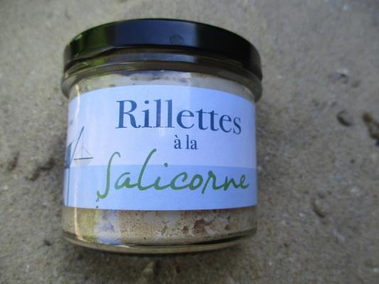 RILLETTES A LA SALICORNE