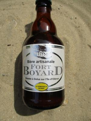 BIERE FORT BOYARD LA DEMOISELLE BLONDE
