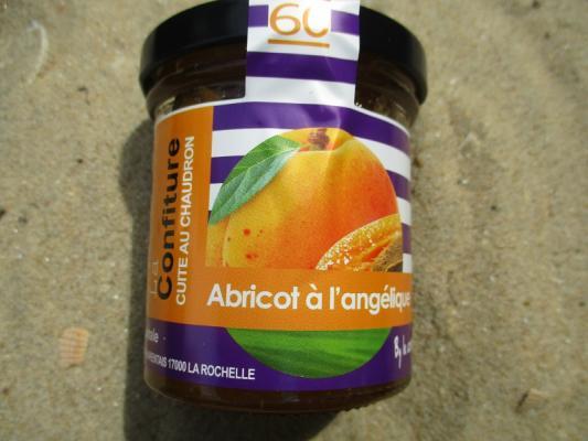 CONFITURE ABRICOT A L ANGELIQUE