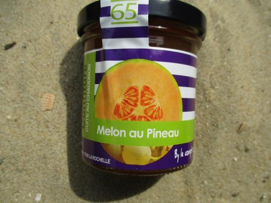 CONFITURE MELON AU PINEAU
