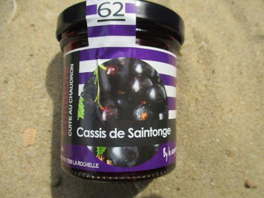 CONFITURE CASSIS DE SAINTONGE