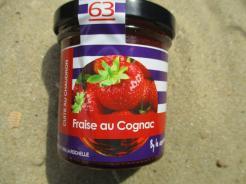 CONFITURE FRAISE AU COGNAC
