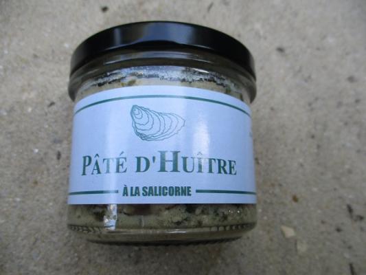 PATE D HUITRE A LA SALICORNE