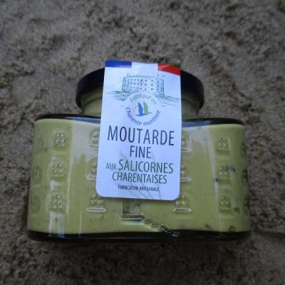 MOUTARDE FINE AUX SALICORNES CHARENTAISES.