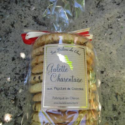 galette charentaise aux pépites de chocolat
