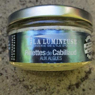 rillettes de cabillaud aux algues