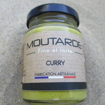 moutarde fine et forte curry