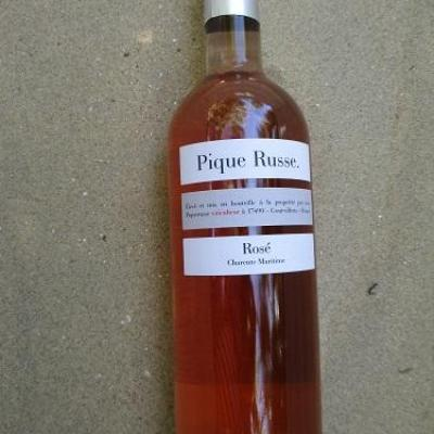pique russe rosé
