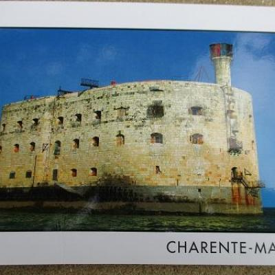 carte postale fort boyard 01