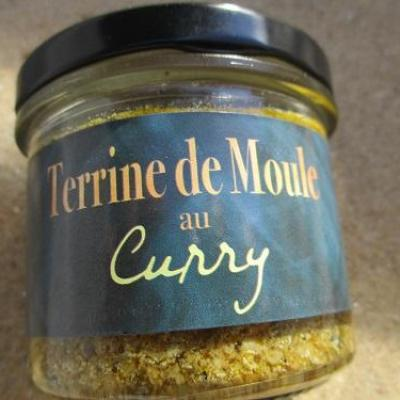 terrine de moule au curry