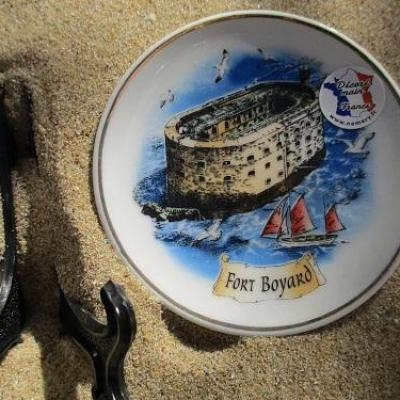 assiette de collection fort boyard