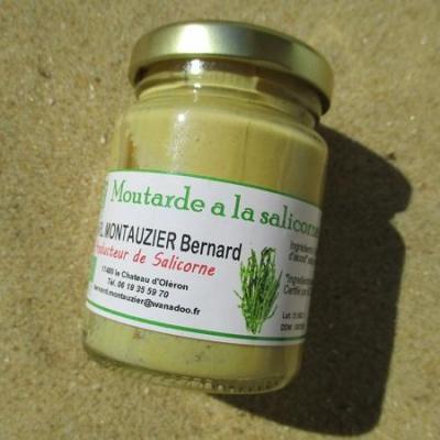 moutarde à la salicorne bio