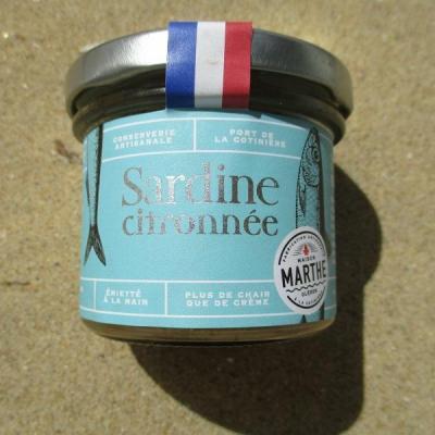 sardine citronnée