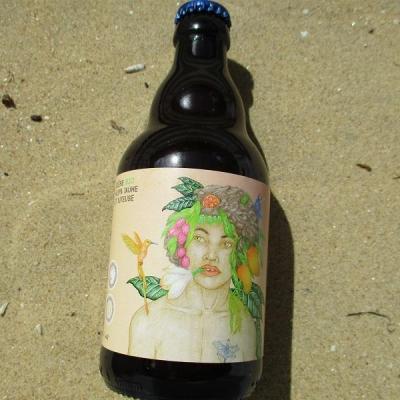 bière bio neipa jaune et juteuse