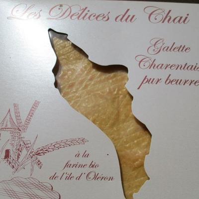 galette charentaise pur beurre à la farine bio