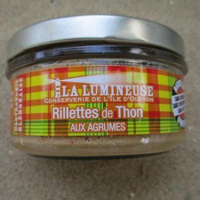 rillettes de thon aux agrumes