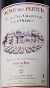 Vignot des Pertuis Rouge BIO